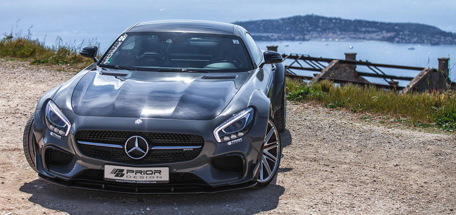 Prior-Design Mercedes-AMG GT S front view