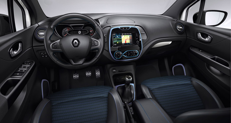 Renault Captur Wave Limited Edition interior
