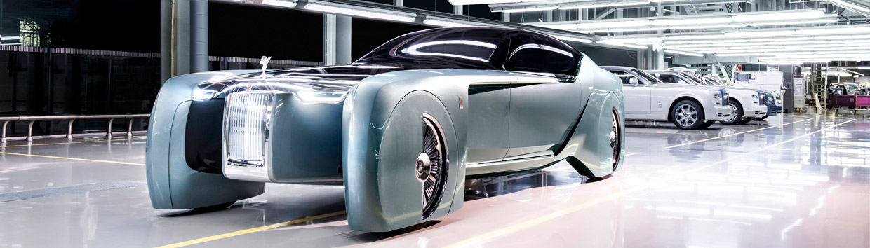 Rolls-Royce VISION NEXT 100 front view
