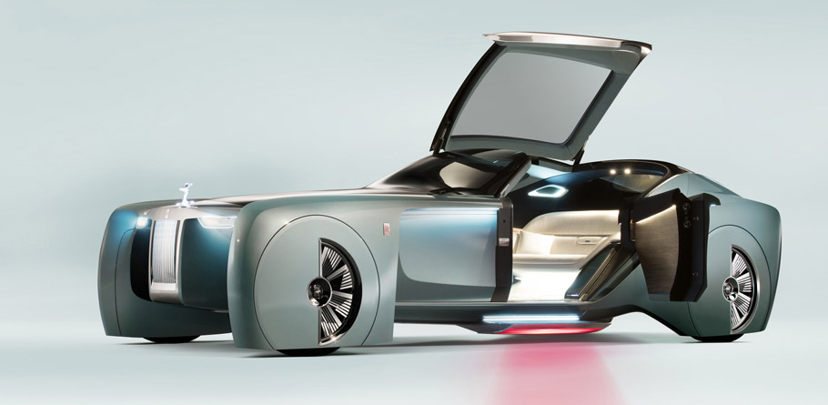 Rolls-Royce VISION NEXT 100 side view