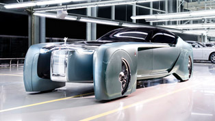 Rolls-Royce VISION NEXT 100 is for the oligarchs of the future [w/360° video]