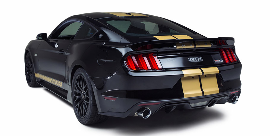 Shelby GT-H prototype rear view