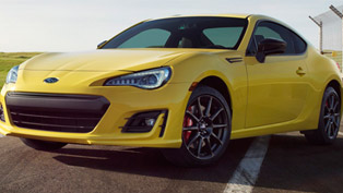 Sporty, distinctive and limited, the 2017 BRZ Series.Yellow is here!