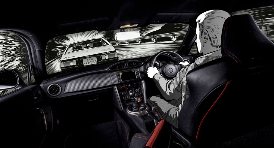 Toyota GT86 Initial D Concept interior