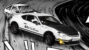 Manga-inspired Toyota GT86 Initial D Concept pays tribute to the mid-80s AE86 Corolla