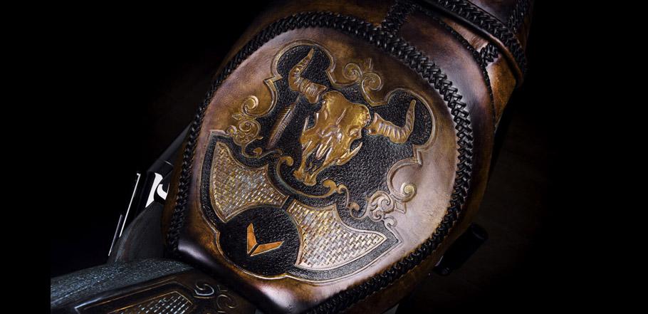 Vilner Suzuki Intruder leather parts