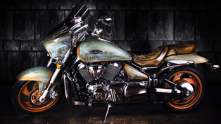Vilner's latest Suzuki Intruder is the highest possible form of art