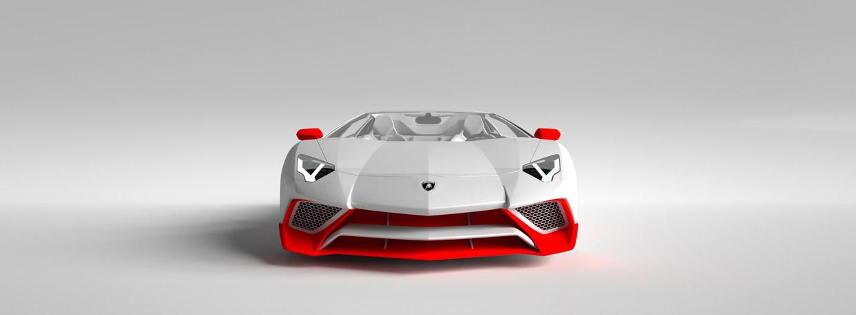 Vitesse AuDessus Lamborghini Aventador LP 750-4 Superveloce front view