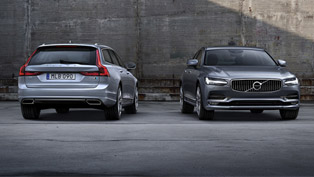 volvo s90 and v90 flagships benefit from polestar upgrades. here are some details!