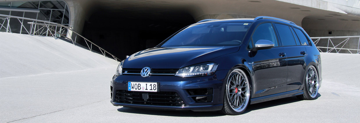 Wetterauer Engineering Volkswagen Golf R front view