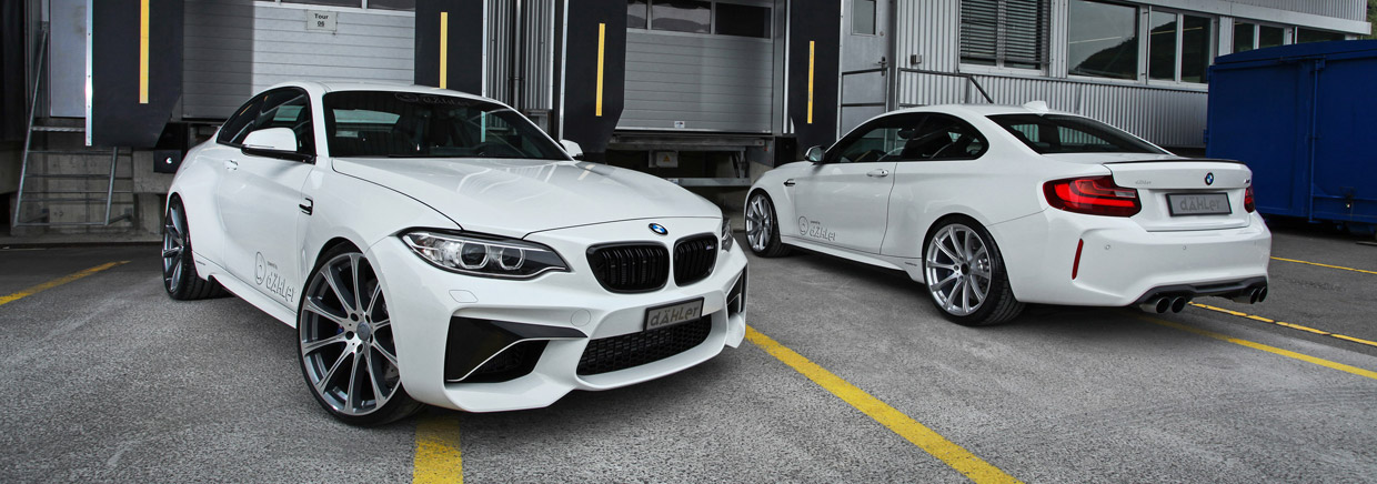 dAHLer BMW M2 Coupe front view
