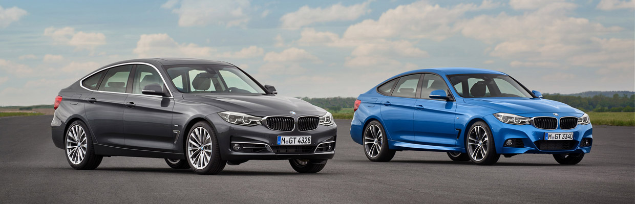 2017 BMW 3 Series Gran Turismo front view with the M Series