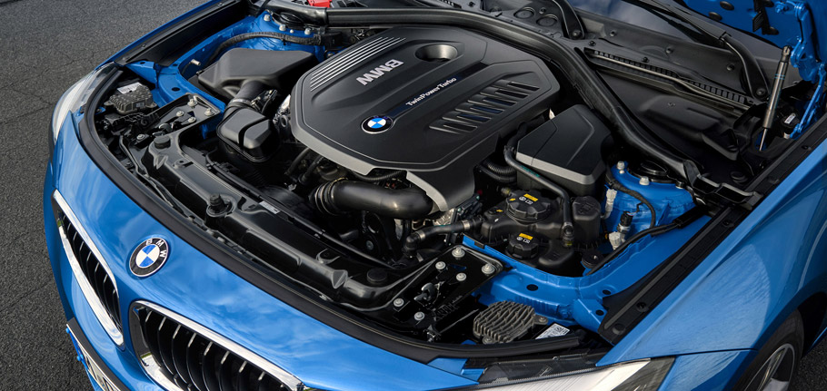 2017 BMW 3 Series Gran Turismo engine