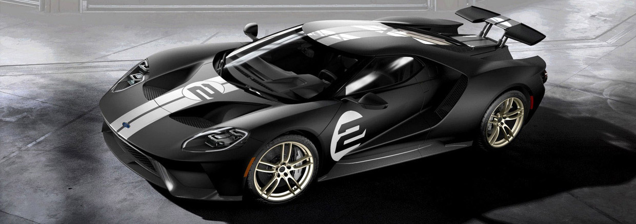 2017 Ford GT '66 Heritage Edition side view
