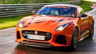 Exclusive ride with the new Jaguar F-TYPE SVR on Nürburgring? Yes, please!