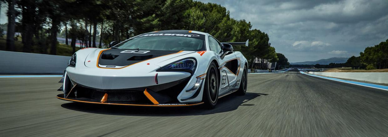 McLaren 570S Sprint front view