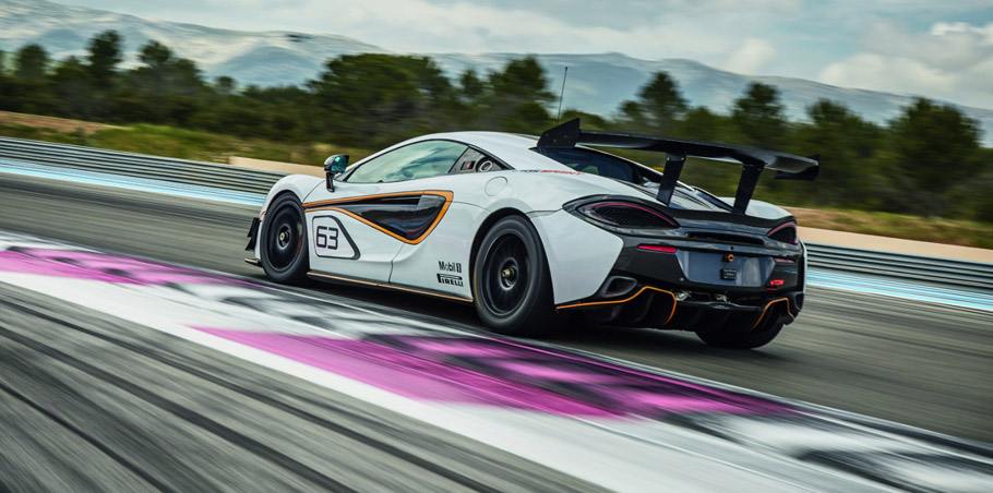 McLaren 570S Sprint rear view