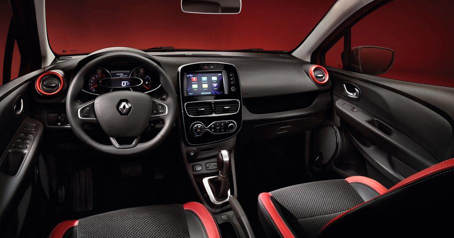 2017 Renault Clio  interior