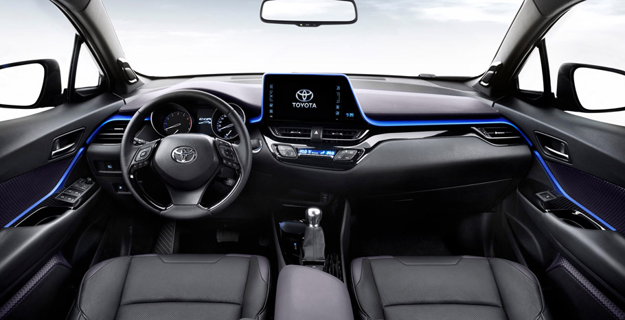 Toyota C-HR interior first image