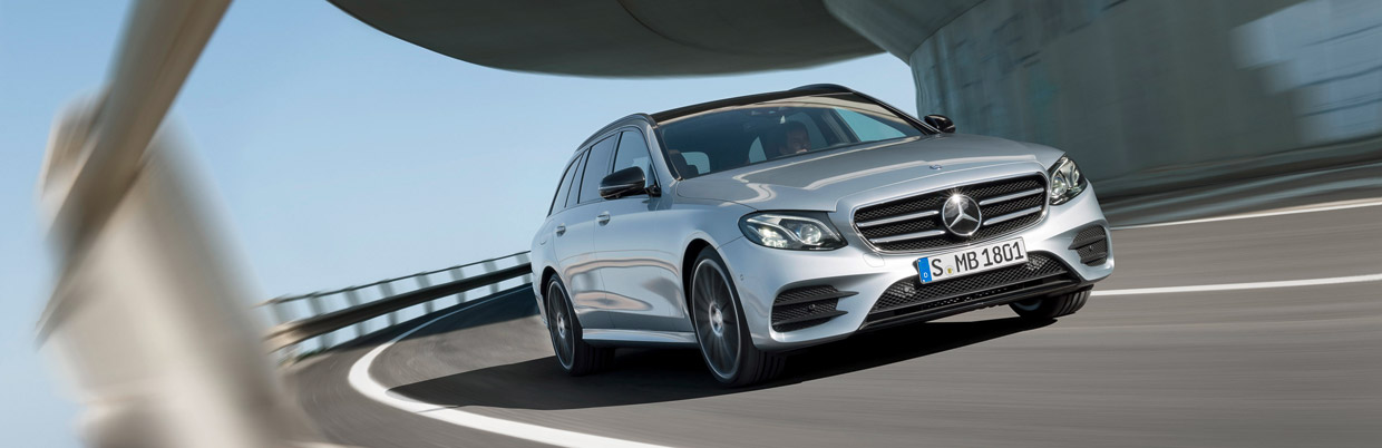 Mercedes E Class Estate Front view