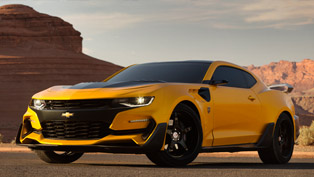 transformers 5 bumblebee based on chevy camaro to go into production?