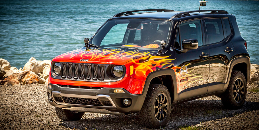Jeep Renegade Hell's Revenge front view