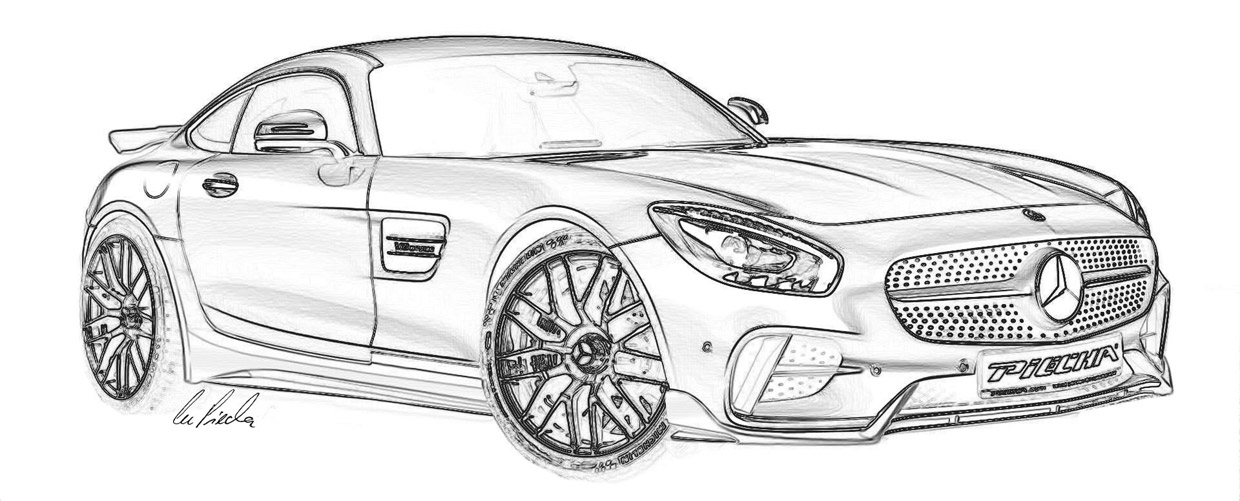 Mercedes-AMG GT S by Marcus PIECHA