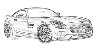 this is how the mercedes-amg gt s could look, if …