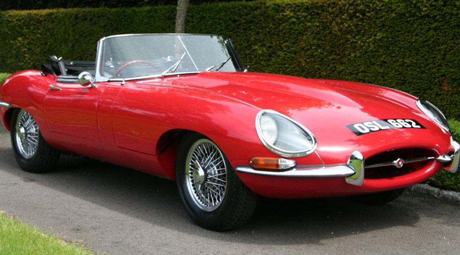1961 Jaguar E-Type Series I Roadster Chassis 62