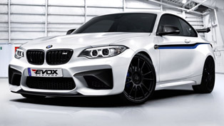 the ultimate performance machine bmw m2 gets styling and performance upgrade