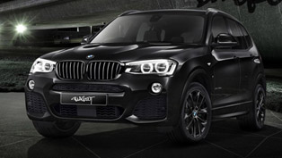 Blackout is the newest trend for BMW X3