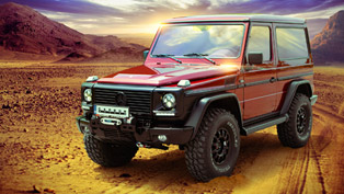 Mercedes G500 becomes a stylish icon handcrafted by Carbon Motors