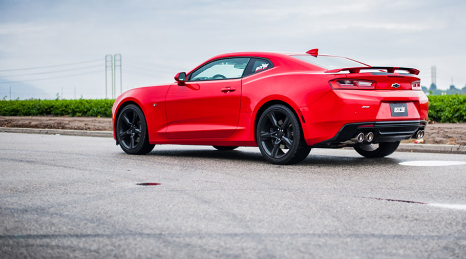 2016 Chevrolet Camaro SS with BORLA Exhaust System
