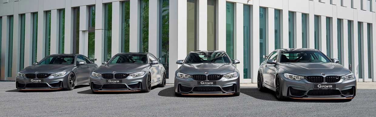 G-POWER BMW M4 GTS F82 four examples