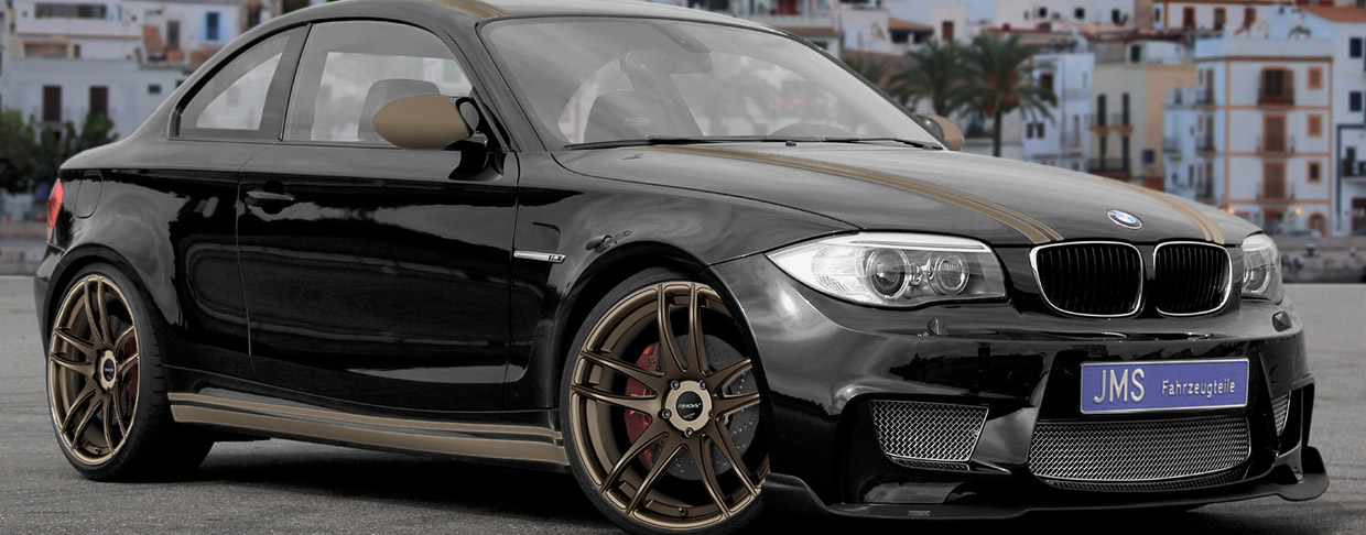 JMS BMW 1 Series M Coupe E82 side view