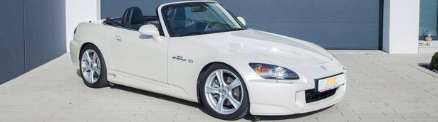KW Automotive modernizes the iconic Honda S2000