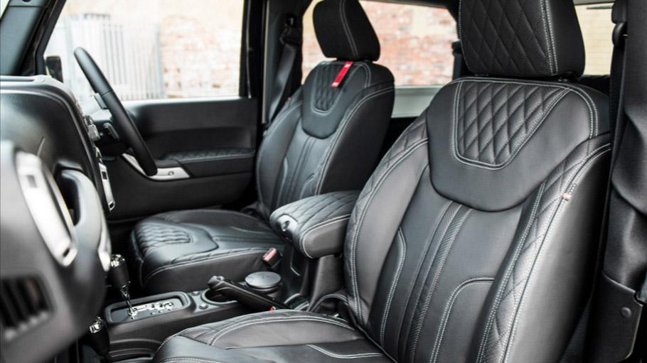 Kahn Jeep Wrangler Sahara CTC CJ300 LE  interior