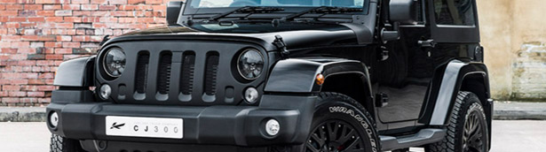 One-off Jeep Wrangler Sahara in Black Clearcoat is Kahn's next masterpiece