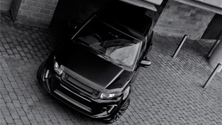kahn transforms range rover evoque to unparalleled levels
