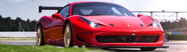 Racing One's Ferrari is stronger on the race-track with these special LOMA GT COMPETITION rims