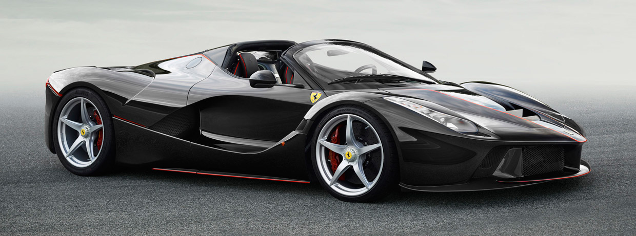 LaFerrari Roadster side view