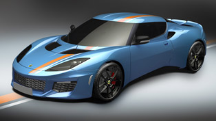 limited, distinctive and exclusive: lotus evora blue and orange is here!