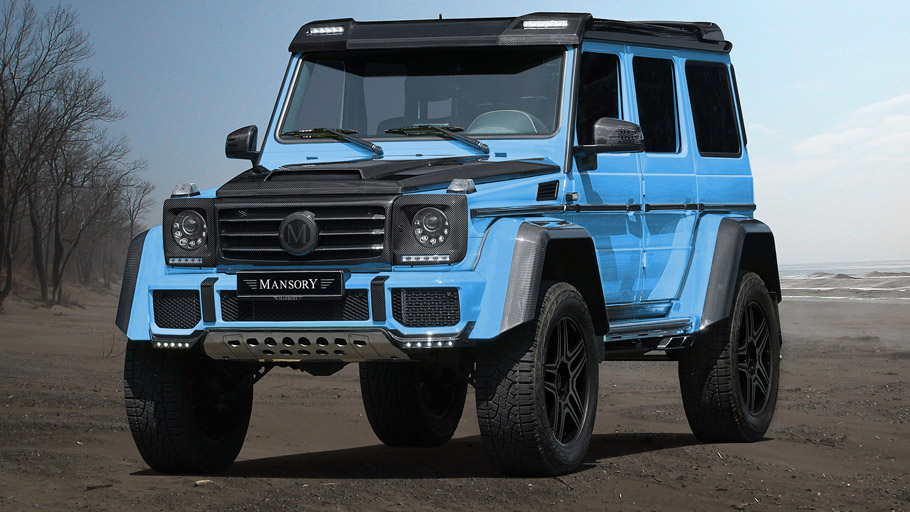 MANSORY Mercedes-Benz G500 4x4 front view