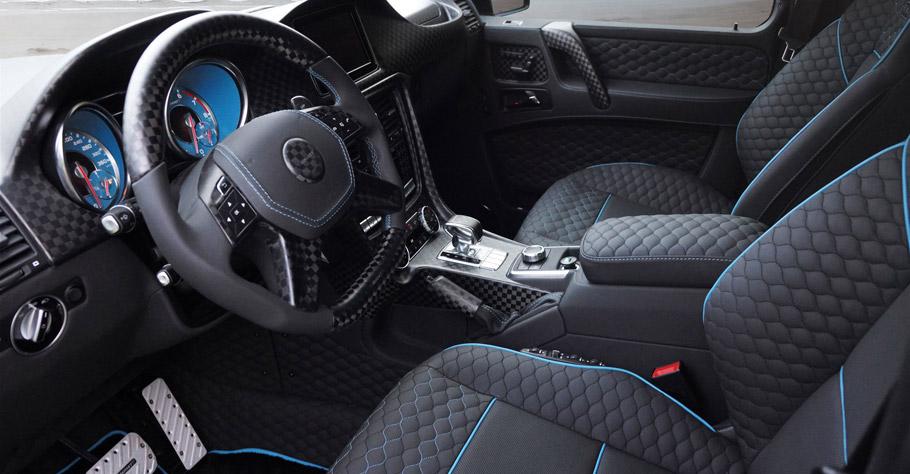 MANSORY Mercedes-Benz G500 4x4 interior