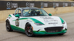 mazda mx-5 race teams prepare for a big race in september