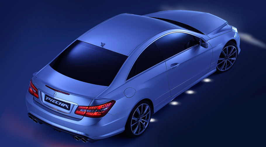 PIECHA Design Mercedes-Benz E-Class Coupe rear view