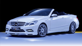 Mercedes-Benz E-Class Convertible or Coupe: PIECHA Design makes both look better than ever