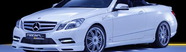 Mercedes-Benz E-Class Convertible or Coupe: PIECHA Design makes both look better than ever