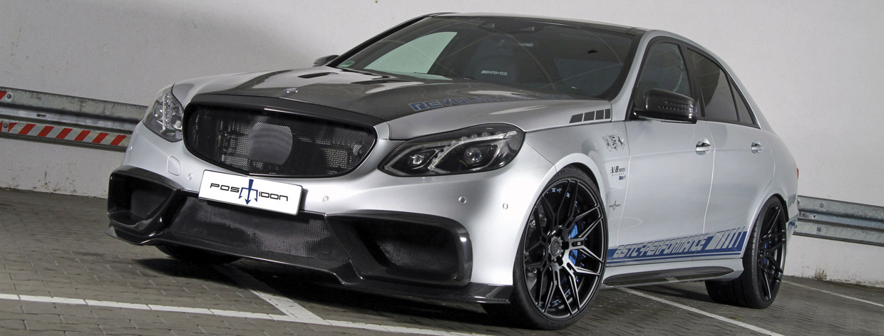 POSAIDON Mercedes-AMG E63 RS850 front view