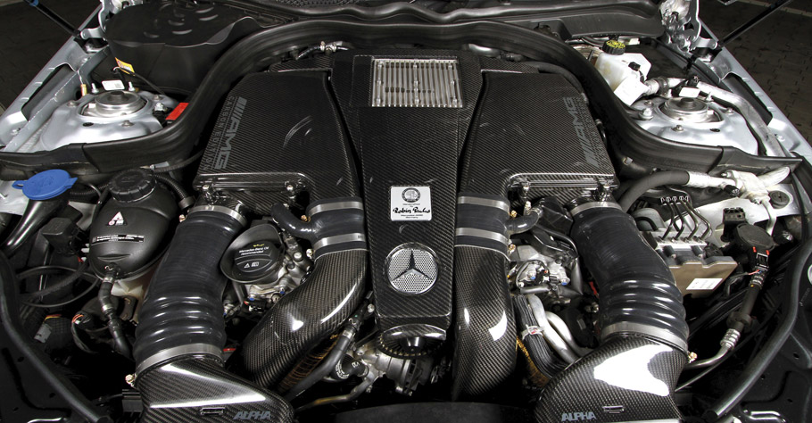 POSAIDON Mercedes-AMG E63 RS850 engine